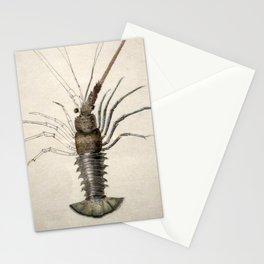 Vintage Lobster Artwork Stationery Cards