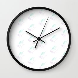 Menstruating Unicorn Princess Wall Clock
