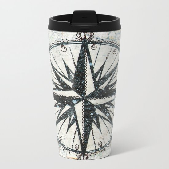 Live Travel Adventure Bless Metal Travel Mug