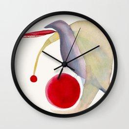 Turtle Dove Wall Clock