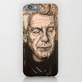 Homage to Bourdain iPhone Case