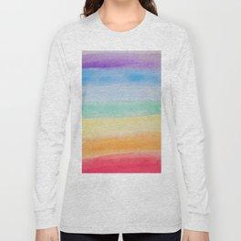 Chakra Watercolor Long Sleeve T-shirt