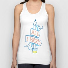 All I need Unisex Tank Top