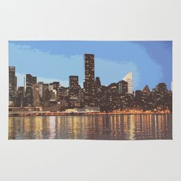 skyline newyork Rug