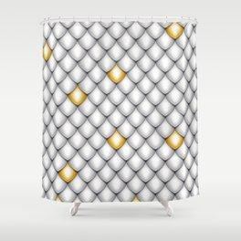 Fish Scale Pattern Design Shower Curtain
