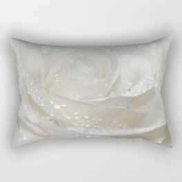Rose white 0115 Rectangular Pillow