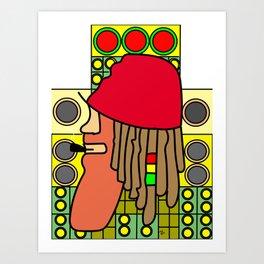 Jah Love Soundsystem Art Print