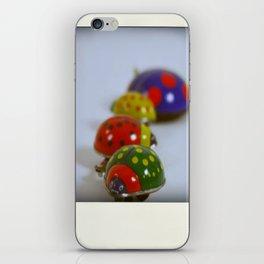 Vintage Lady Bird Family iPhone Skin