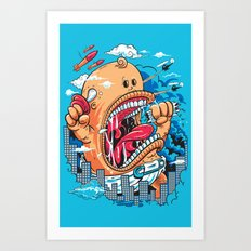 Momma's Boy Art Print