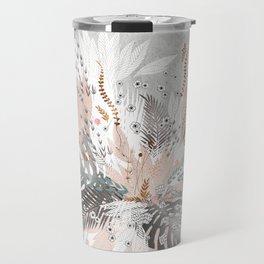 Tropical Silver Travel Mug
