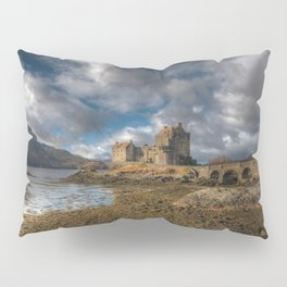 Eilean Donan Castle in Highlands of Scotland Pillow Sham