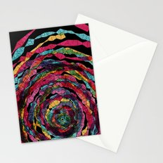 pattern - spaghettis spiral Stationery Cards