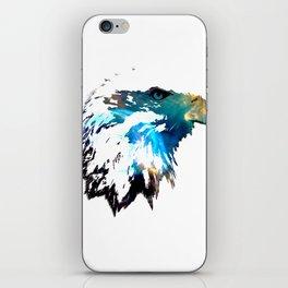 Space Bald Eagle iPhone Skin