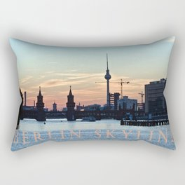 BERLIN SKYLINE Rectangular Pillow