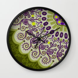 Old Friends Wall Clock