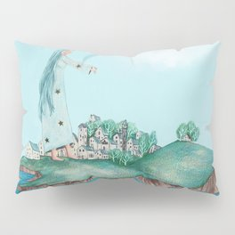 Dreaming of the Island Pillow Sham