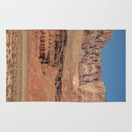 Colorful Mesas 2 - Desert Southwest Rug