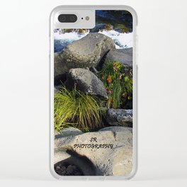 Rushing By Clear iPhone Case