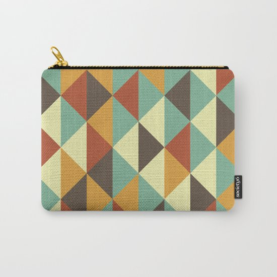 Triangle stencil Carry-All Pouch