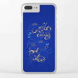 Anything Worth Doing - Nikolai Lantsov Clear iPhone Case