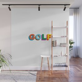 GOLF WANG LOGO Tyler the Creator golfwang Wall Mural