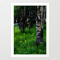 """In The Meadow"" Art Print"