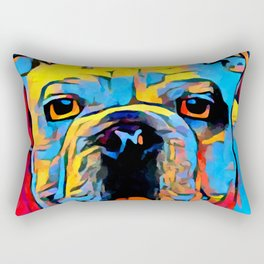 Bulldog Rectangular Pillow