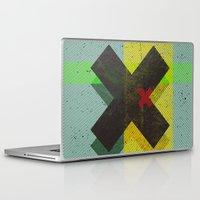 cross Laptop & iPad Skins featuring CROSS by Metron