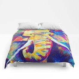 Colourful Elephant Comforters
