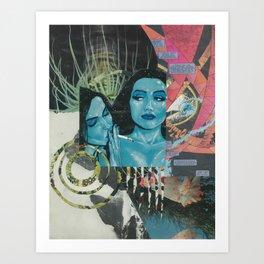 gemini season 2 Art Print