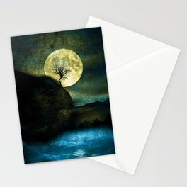 The Moon and the Tree. Stationery Cards