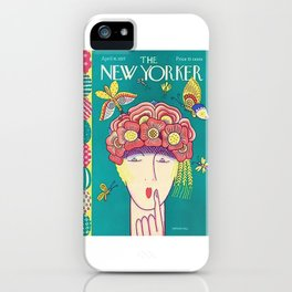 Vintage New Yorker Cover - Circa 1927 iPhone Case