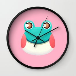 Lily Animal Crossing Wall Clock