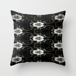 Concave Stature Pattern Throw Pillow