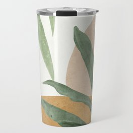 Abstract Art Tropical Leaves 4 Travel Mug