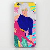 jem iPhone & iPod Skins featuring Jem by Camila Fernandez