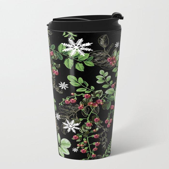 mid winter berries Travel Mug