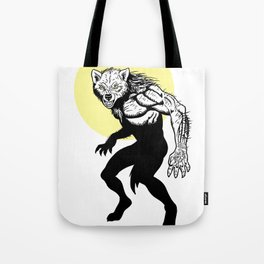 Loup-garou Homme Tote Bag