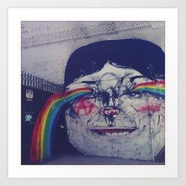 Making Rainbows Art Print