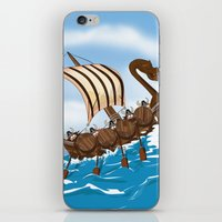 vikings iPhone & iPod Skins featuring The Vikings by Nick's Emporium Gallery