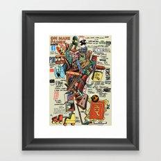 OM MANI PADME Framed Art Print