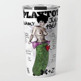 PLAYTOY - NANCY  JULY 1969 Travel Mug