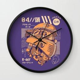 Robo-head Wall Clock