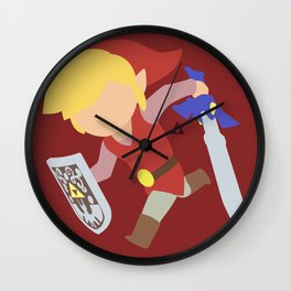 Toon Link(Smash)Red Wall Clock