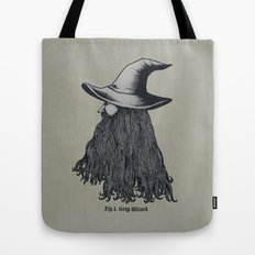 Grey Wizard Tote Bag