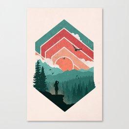 Divided Sky Canvas Print