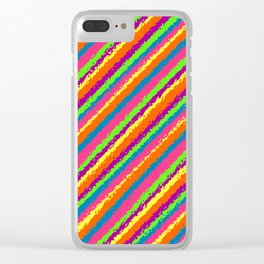 Crazy Colorz Clear iPhone Case