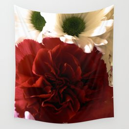 Floral Fantasy Wall Tapestry