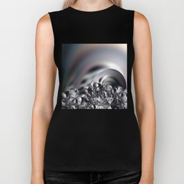 Complexity under smooth simplicity - Abstract play with focus Biker Tank