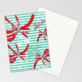 Falalalala Flower Stationery Cards